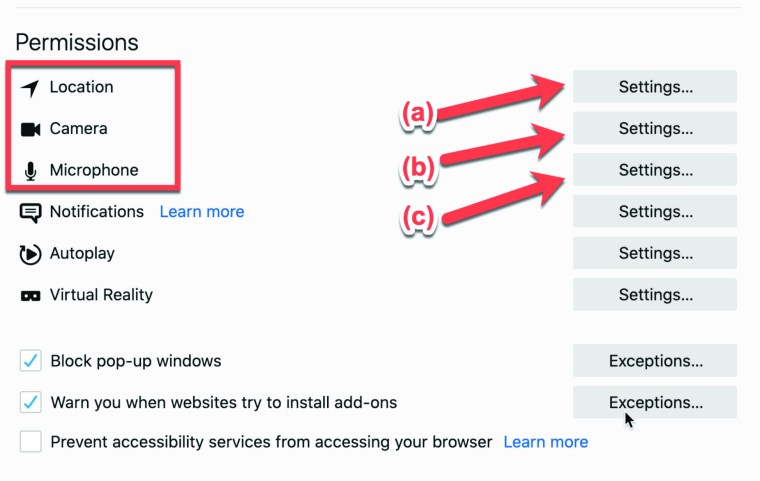 Firefox Page 5 Image 0001 Setting up Firefox for Privacy