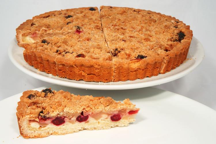 Apple Cranberry Whole Tart