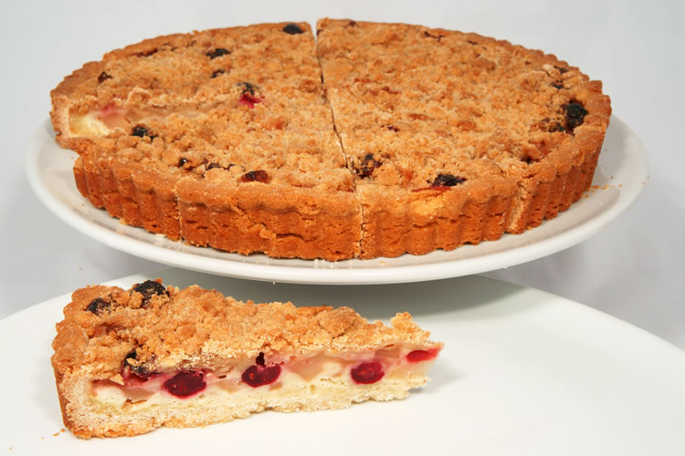 Apple Cranberry Whole Tart
