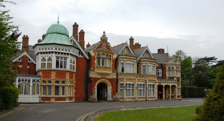 Bletchley Park once the top-secret home of the World War Two Codebreakers,
