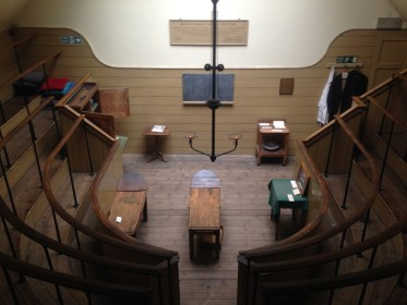 The interior of the Old Operating Theatre Southwark London