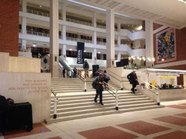 The British Library – historical treasures and a quiet place to work in London!