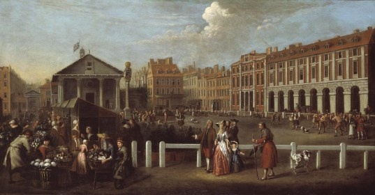 Covent Garden – London's first residential square, a short history