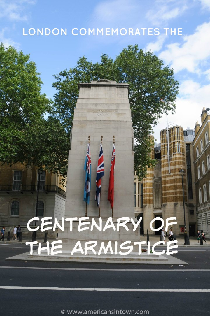 London commemorates the Centenary of the Armistice