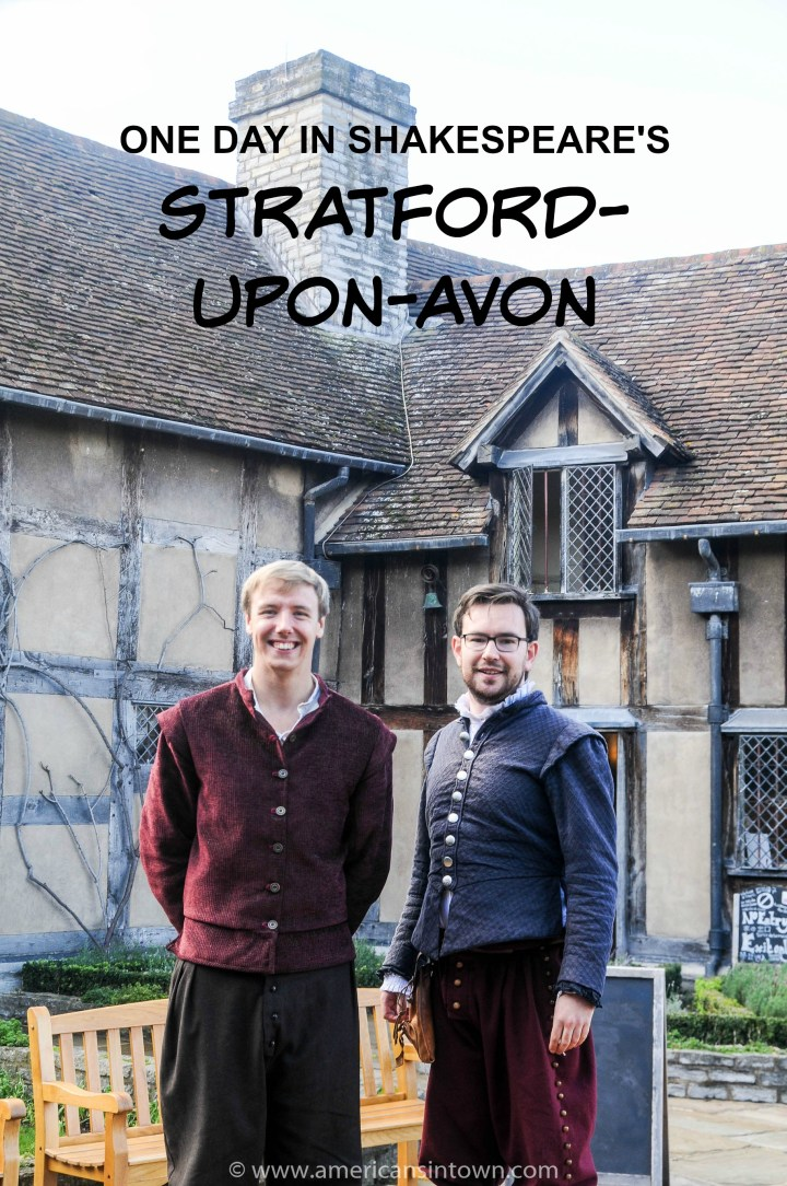 Birthplace of the world's most famous writer – Stratford-upon-Avon