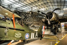 Royal Aircraft factory SE5a (replica), 1916, Vickers Wellington