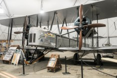 Vickers Vimy - built at Brooklands and the first to fly across the Atlantic