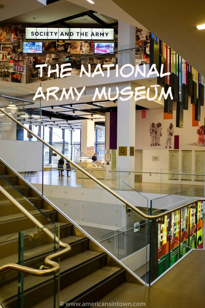 The history of the British Army at the National Army Museum