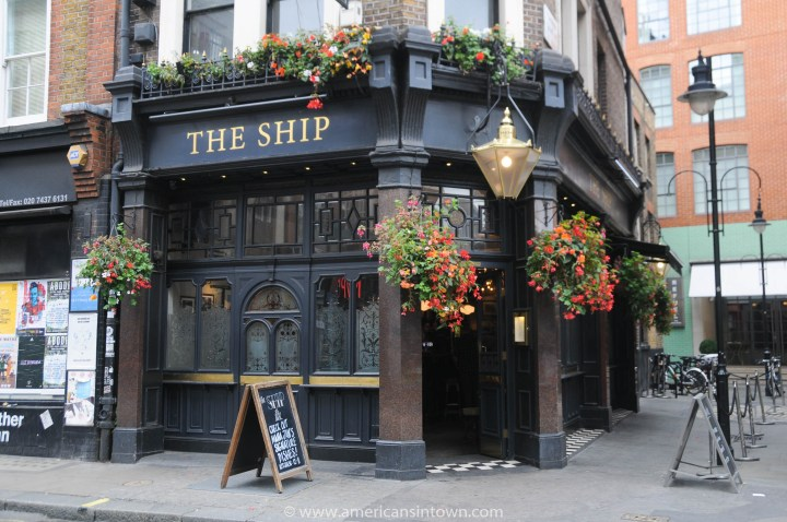 The Ship pub, Soho