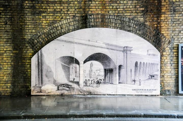 Greenwich Railway built in 1836.