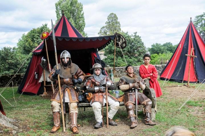 Medieval Fete in Vouvant
