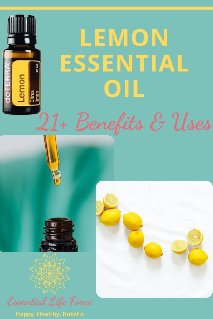 21+ Benefits and Uses Lemon Essential Oil