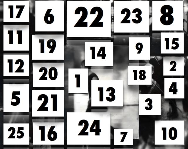 advent calendar 1