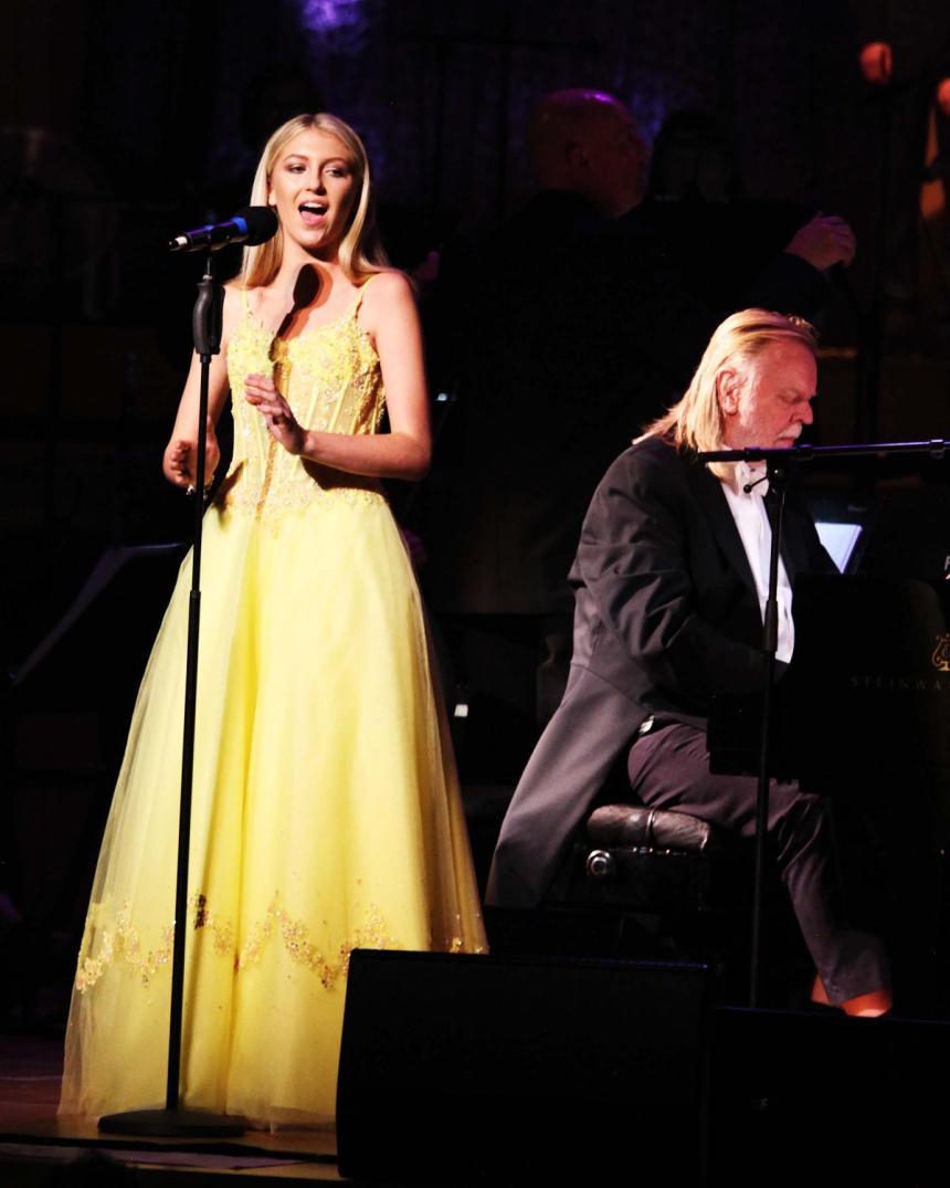 Rick Wakeman and Emmie Beckitt 1