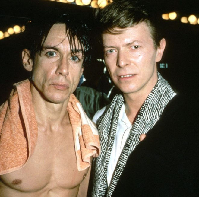Iggy credits Bowie with resurrecting him as an artist
