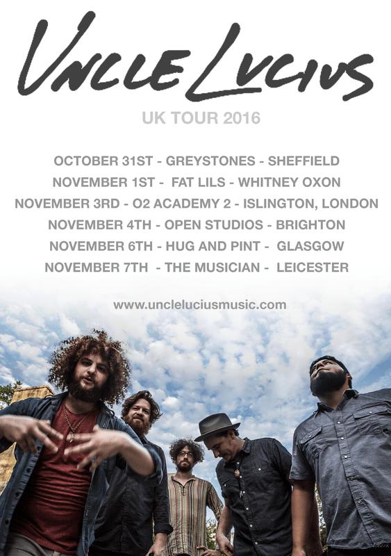 Uncle Lucius UK tour