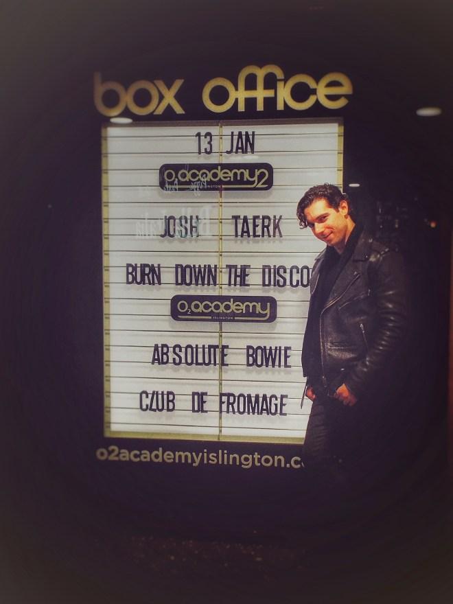 Josh Taerk at the O2 Academy Islington. Photo Credit - Lisa Hafey