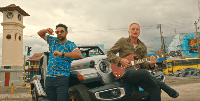 STING & SHAGGY'S NEW ALBUM - '44/876' - OUT NOW