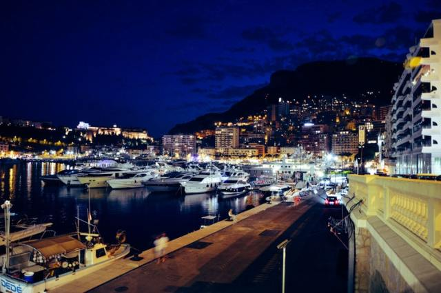 Monaco At Night. Photo Credit: Pasquale Lovino