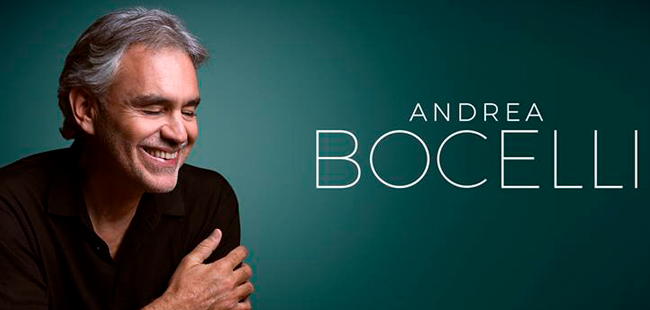 Andrea Bocelli's New Album 'Sì' Out Today With Duets From Dua Lipa, Ed Sheeran, And Josh Groban