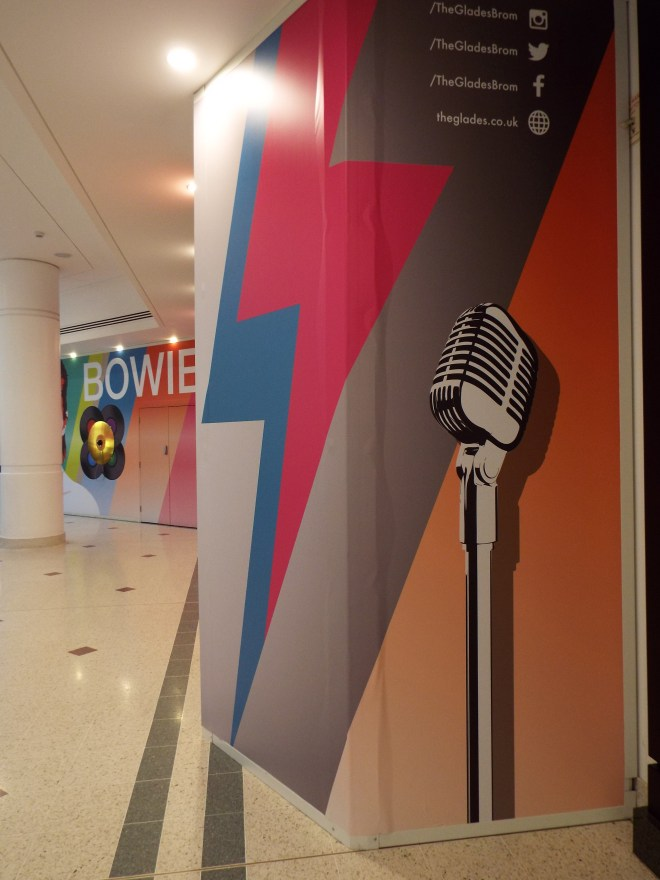 The David Bowie Interactive Musical Wall, The Glades, Bromley. Photo Credit: Lisa Hafey