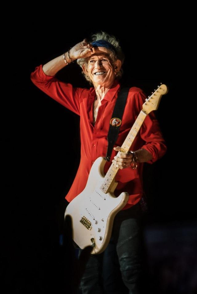 Keith Richards - Photo Credit Jerzy Bednarski