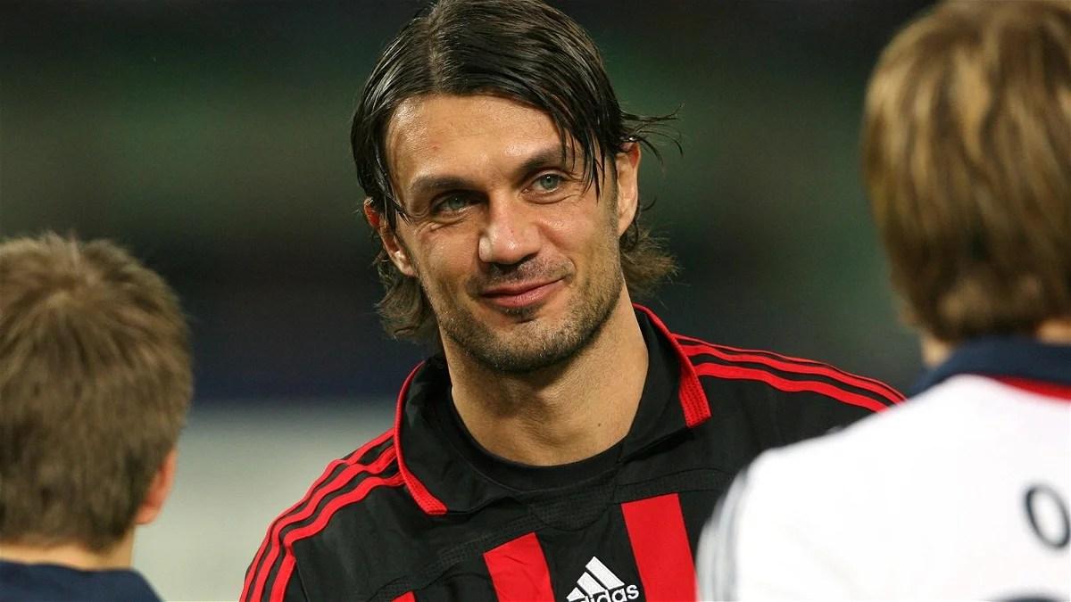 Paolo Maldini The true Rossoneri Essentially Sports