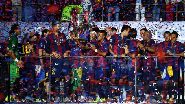 2015 UEFA Champions League winners, FC Barcelona