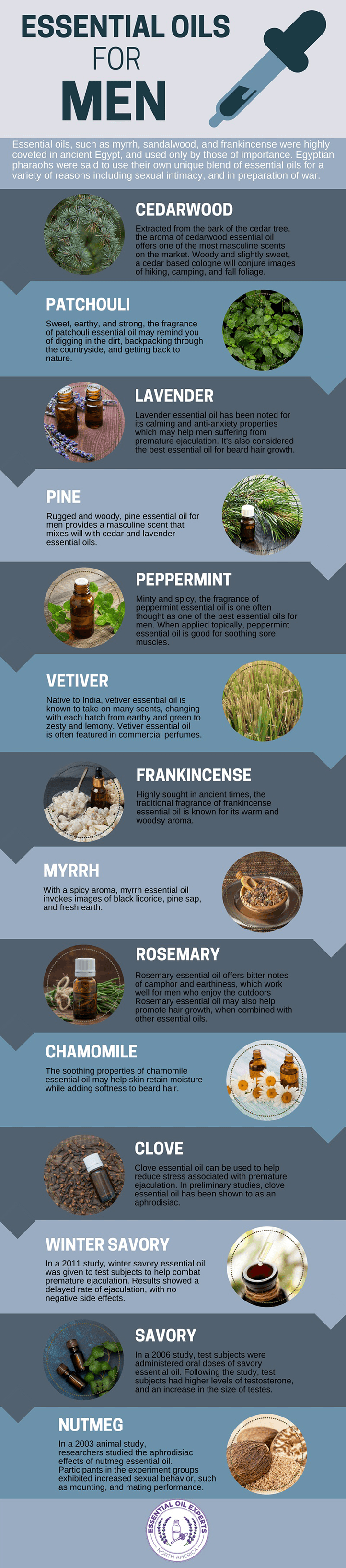 The top essential oils for sex and most effective essential oils for premature ejaculation.