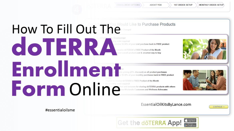doterra-enrollment-form