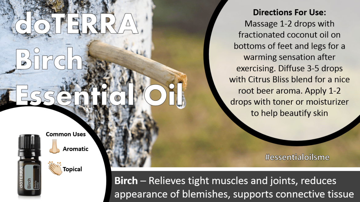 doterra birch essential oil