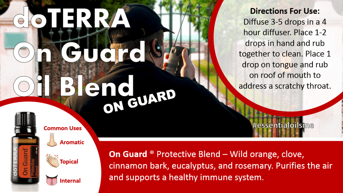 doterra on guard oil blend