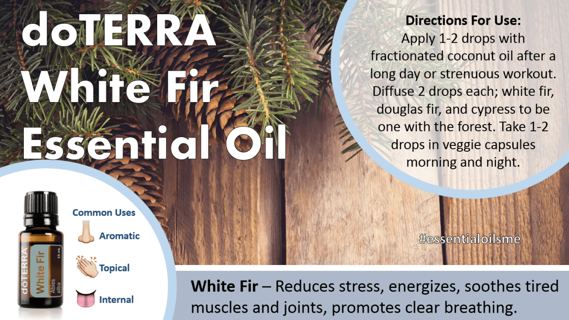 doterra white fir essential oil