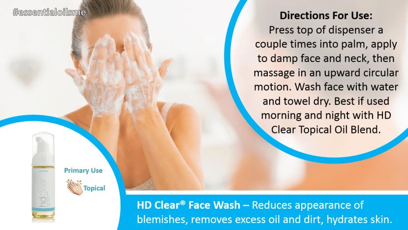 doterra hd clear face wash