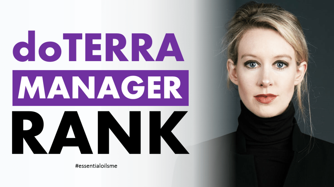 doterra manager rank