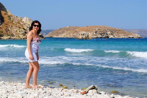 Beach, sunshine, holidays