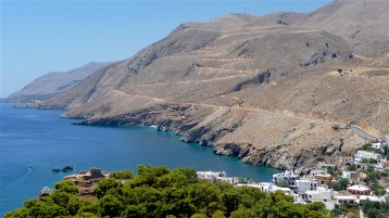 Various colours in South Crete