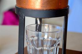 First drops of jasmine hydrosol