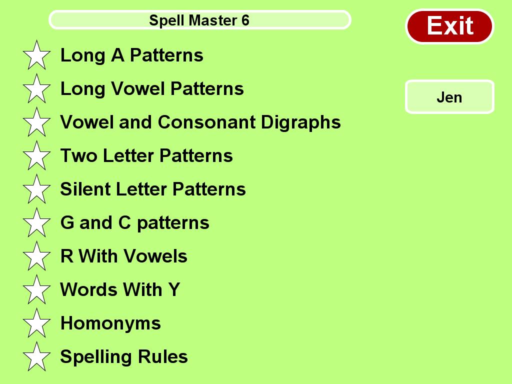 Spell Master Grade 6