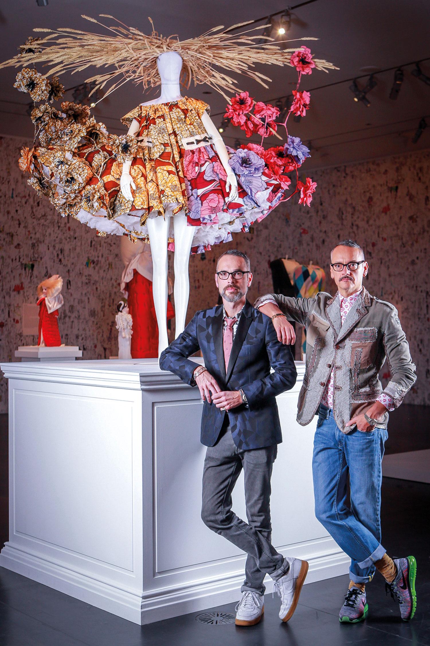 Viktor Horsting and Rolf Snoeren