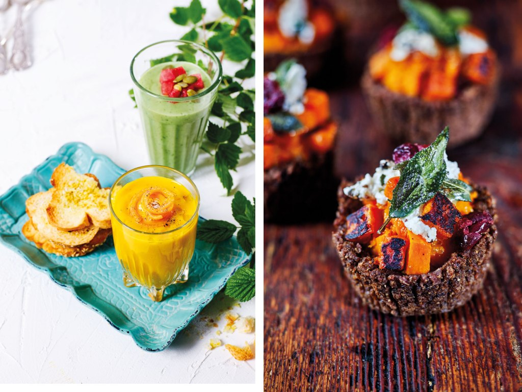 Race Day Favourites: Chilled Soups and Pumpernickel Pumpkin Tartlets