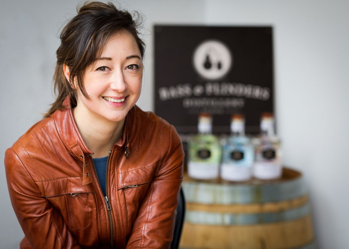Managing Director and Head Distiller Holly Kilntworth of Bass & Flinders Distillery