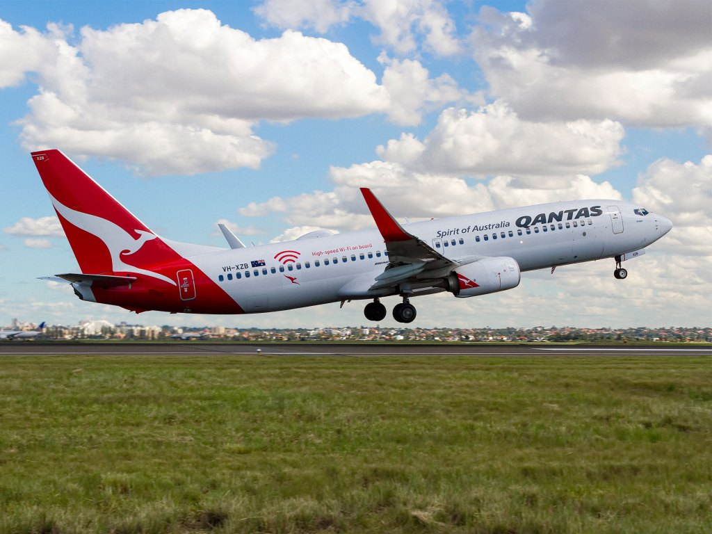 Qantas takes off in NSW