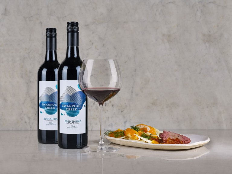Swanpool Creek Shiraz that's leading pack