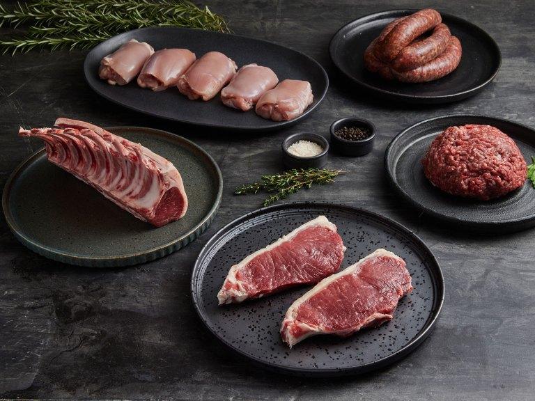 Castle Estate Lockdown Meat Delivery Pack