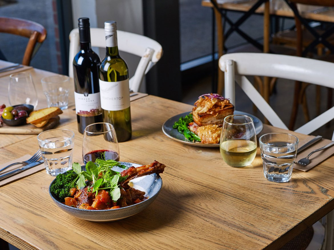 The Punka Pub offers a family-friendly menu ranging from delicate bites to pub classics and more hearty gastro-pub meals
