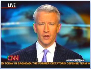 Anderson Cooper on CNN screenshot