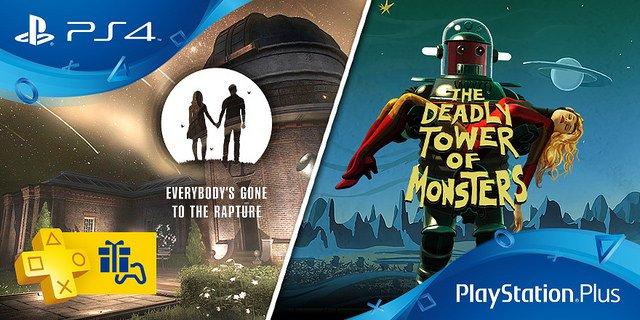 Les jeux PS Plus de novembre 2016