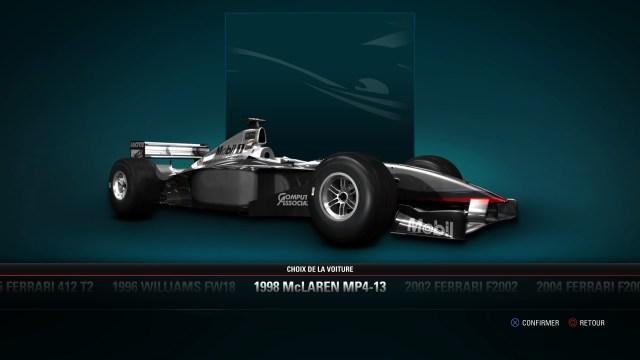 F1  2017 formula one vehicule retro