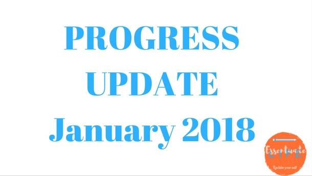 progress update January